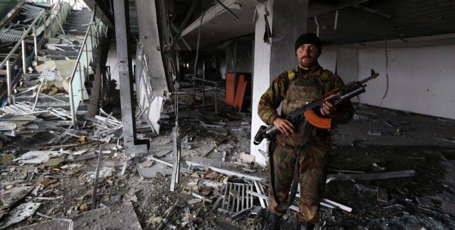 Донецк, аэропорт, киборги, добровольцы, ато