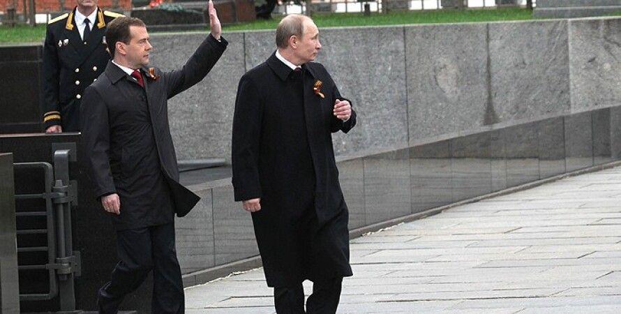 Владимир Путин и Дмитрий Медведев / Фото: Getty Images