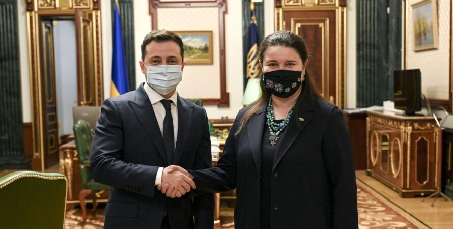 маркарова стала послом украины в сша