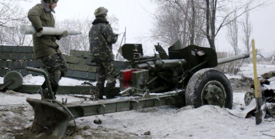 Артиллерия боевиков / Фото: topwar.ru