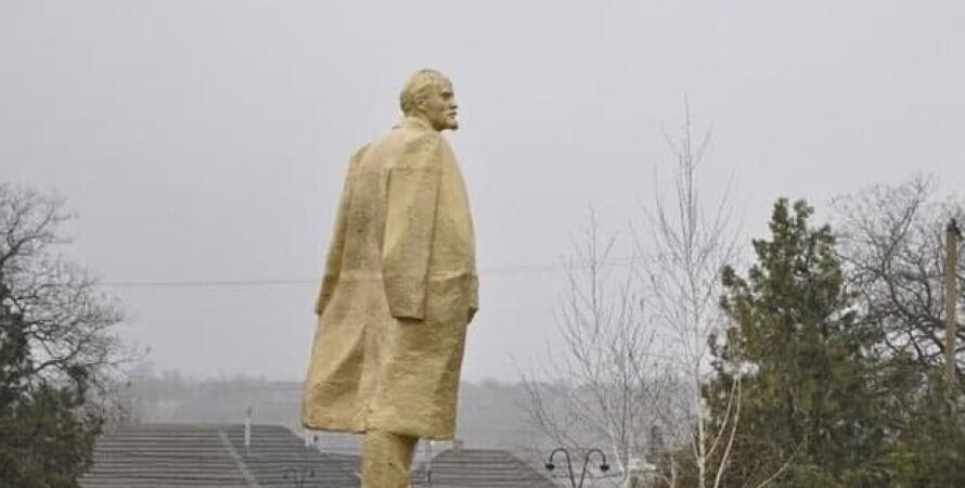 ленин, памятник, декоммунизация, одесса, одесская область, полиция