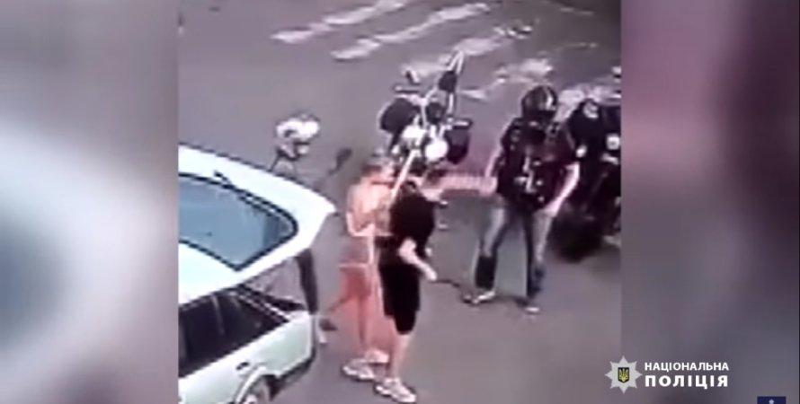 Полиция задержала байкеров, подозреваемых в избиении молодой пары в Черкассах