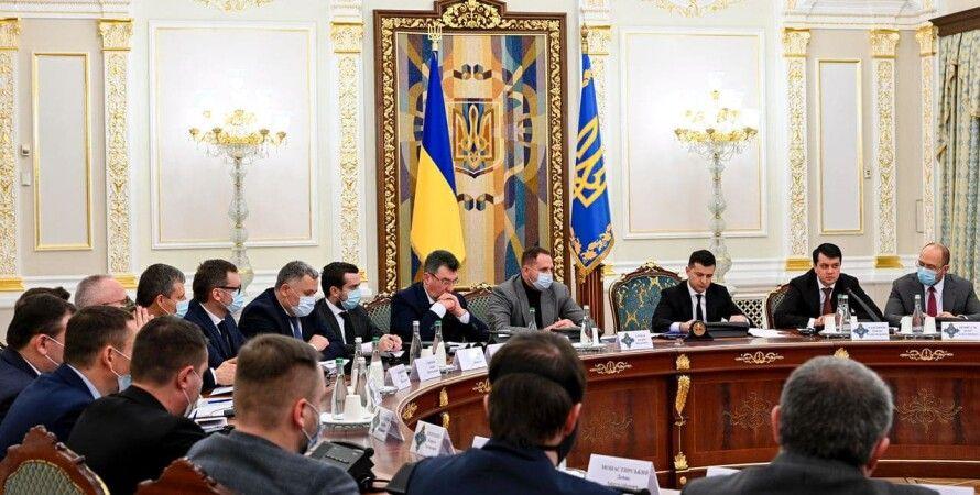 владимир зеленский, зеленский, зе, снбо, новое заседание, санкции