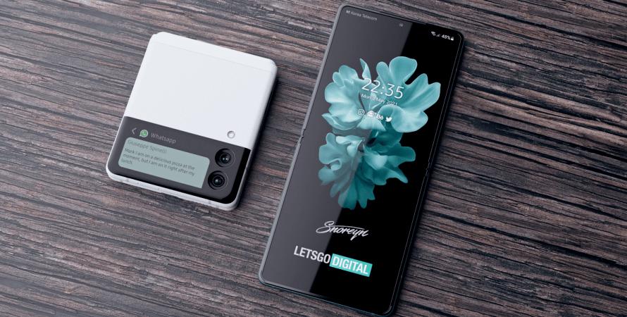 гибкий смартфон, презентация samsung