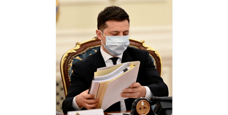 Владимир Зеленский, президент Украины, снбо