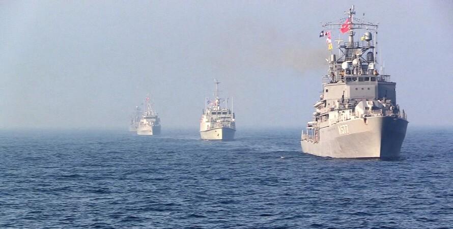 ВМС України, НАТО, кораблі, Чорне море, вчення,