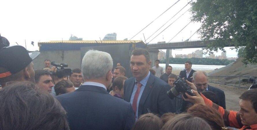 Виталий Кличко на открытии веломаршрута / Фото: Facebook