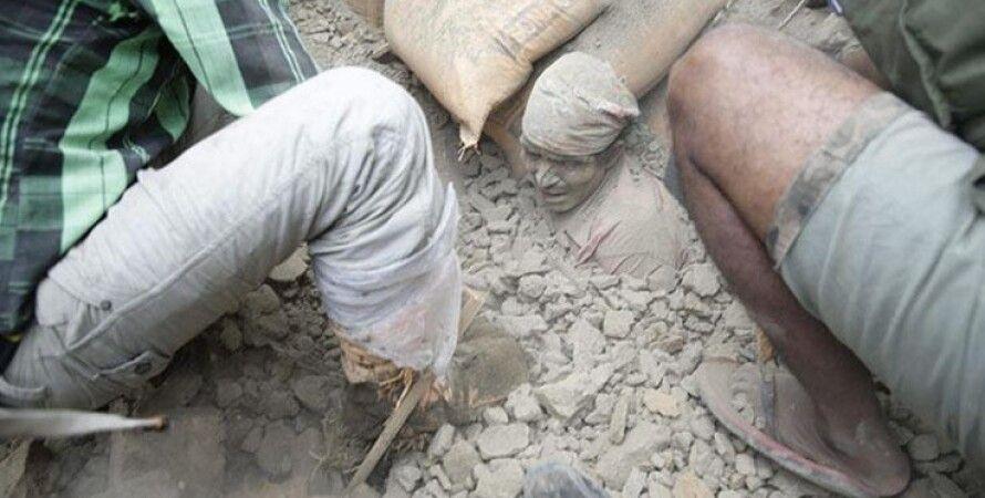 Разрушения в Непале / Фото: EPA