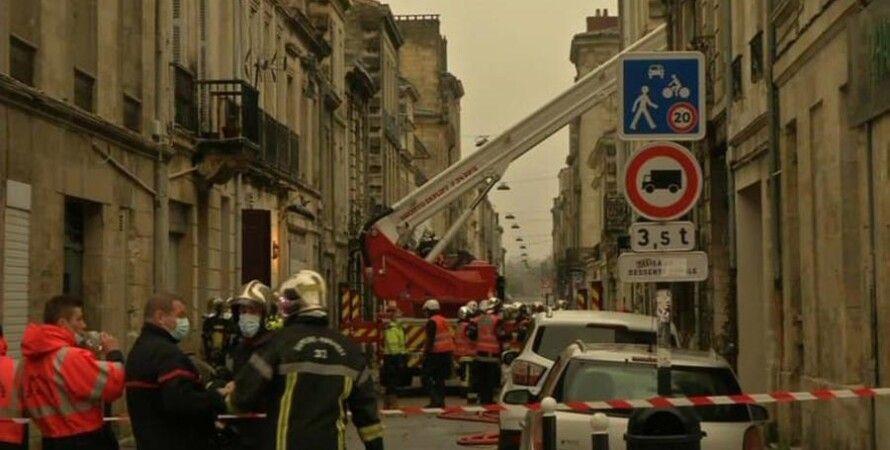 Франция, Бордо, Взрыв, Газ, здание