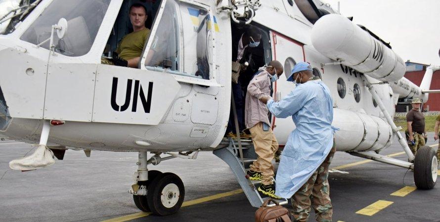 эвакуация в Конго