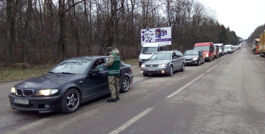 украина, граница, пограничники, очереди на границе, праздники