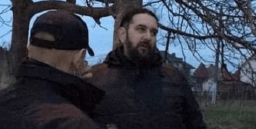 Василь Савка, священик, загрози, нетверезе водіння