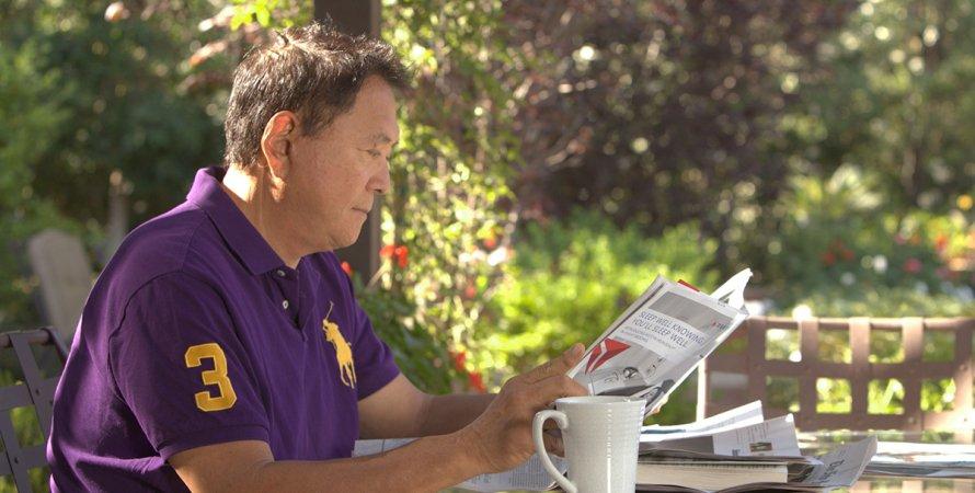 Роберт Кийосаки, писатель, инвестор, фото