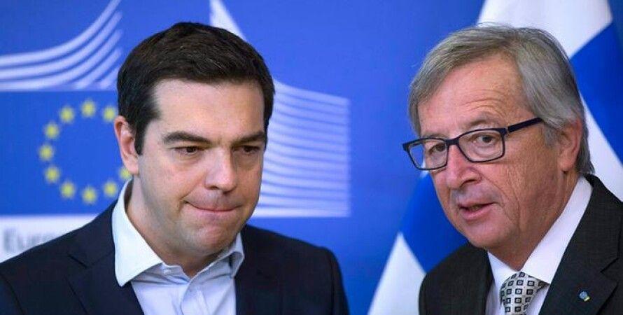 Жан Клод-Юнкер и  Алексис Ципрас / Фото: Reuters