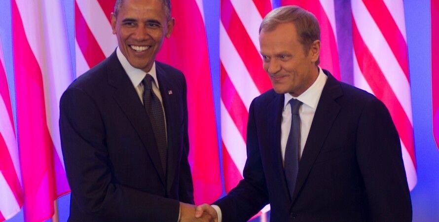 Барак Обама и Дональд Туск / Фото: Wikimedia.org