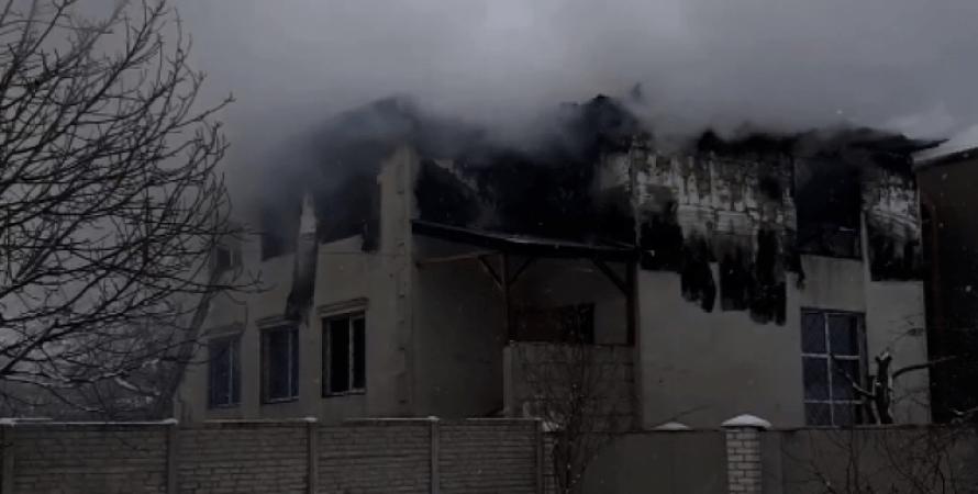 Харків, золотий час, пансіонат, пожежа, харків, будинок для людей похилого віку