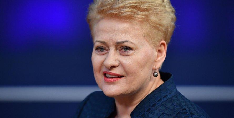 Даля Грибаускайте, экс-президент Литвы