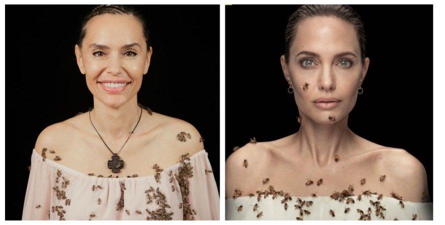 Наш ответ Джоли: дочь Виктора Ющенко повторила фотосессию Анджелины с  пчелами (фото, видео)