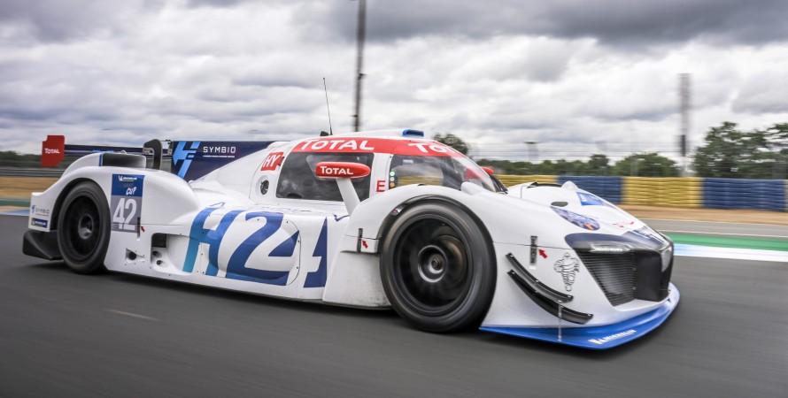 Водневий автомобіль Michelin LMPH2G для Ле-Мана