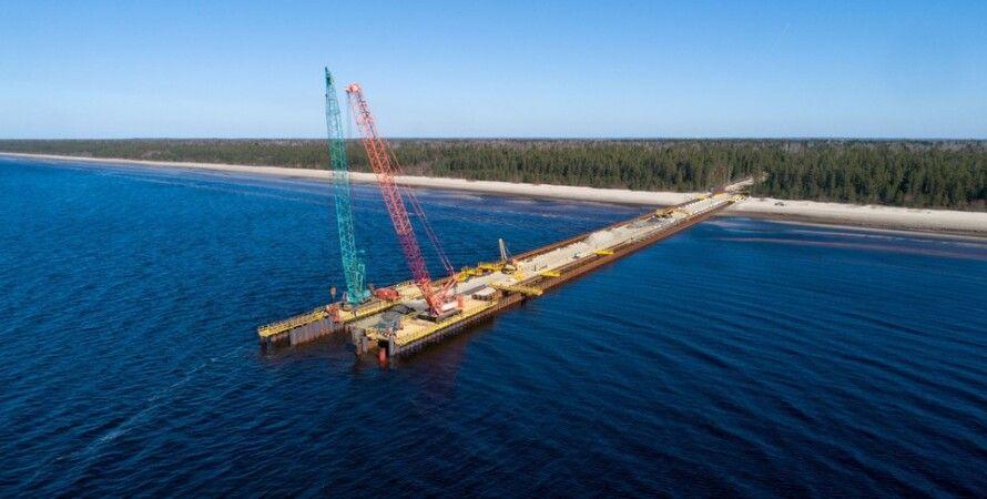 газопровід, підводний, будівництво