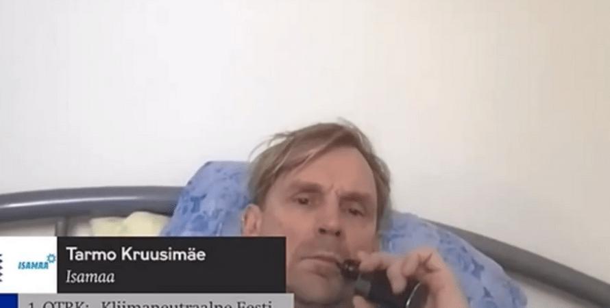 Эстония, депутат, Тармо Круузимяэ, заседание, курьез, конфуз,