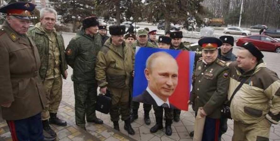 Козаки, Володимир Путін, Росгвардія