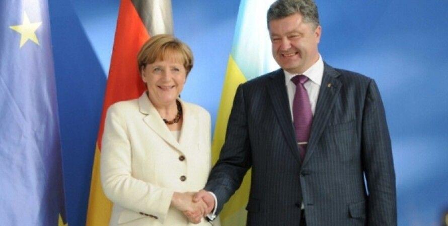 Меркель и Порошенко / Фото: ipress.ua