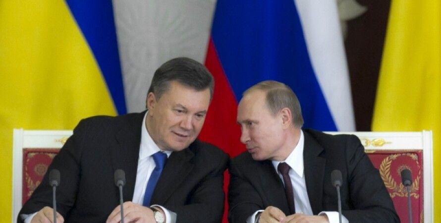 Янукович и Путин в Москве / Фото: prezident.gov.ua