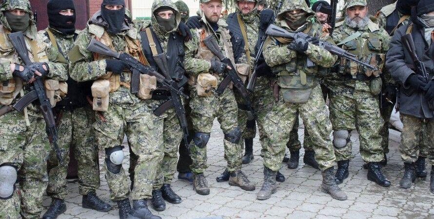 Боевики в Донбассе / Фото: lenta-ua.net