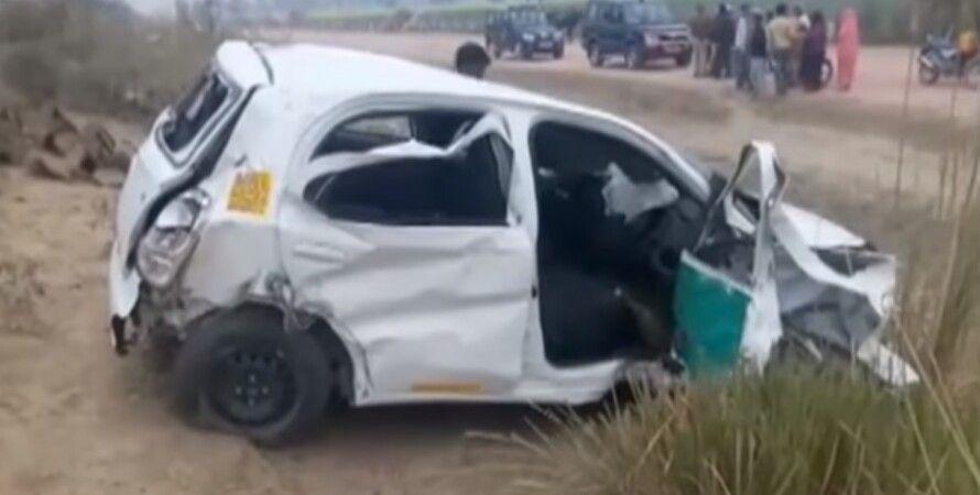 На месте аварии / Скриншот: youtube / National Voice