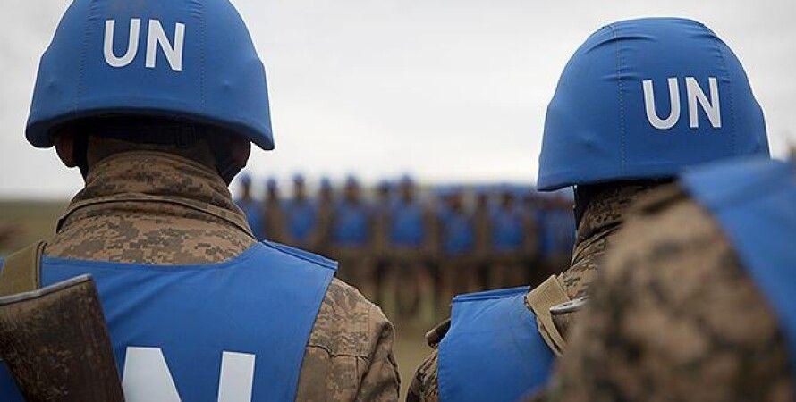 Фото: миротворцы ООН (wikimedia.orgCpl. / Janessa Pon)