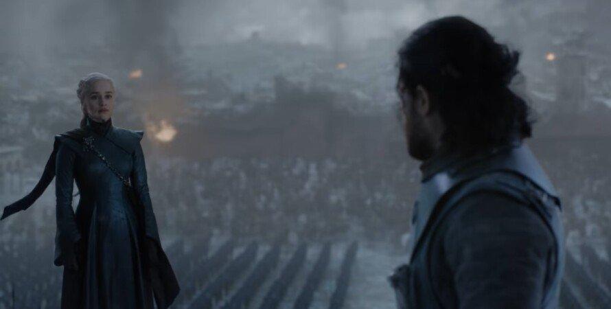 Гра престолів, скріншот, Дейенеріс, Джон Сноу