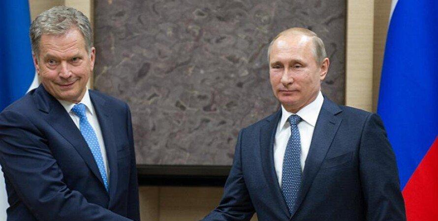 Саули Ниисте, Владимир Путин,