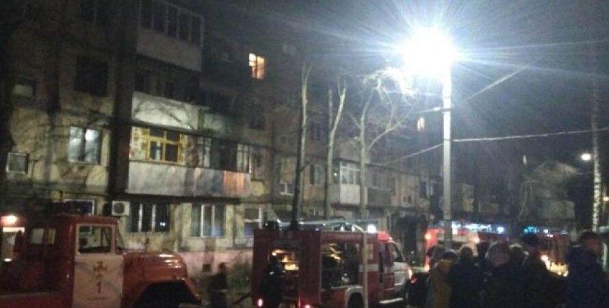 Место пожара в Виннице/Фото: dsns.gov.ua