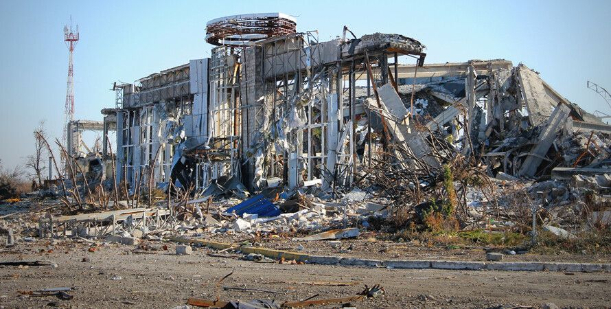 Руины Луганского аэропорта / Фото: elise.com.ua