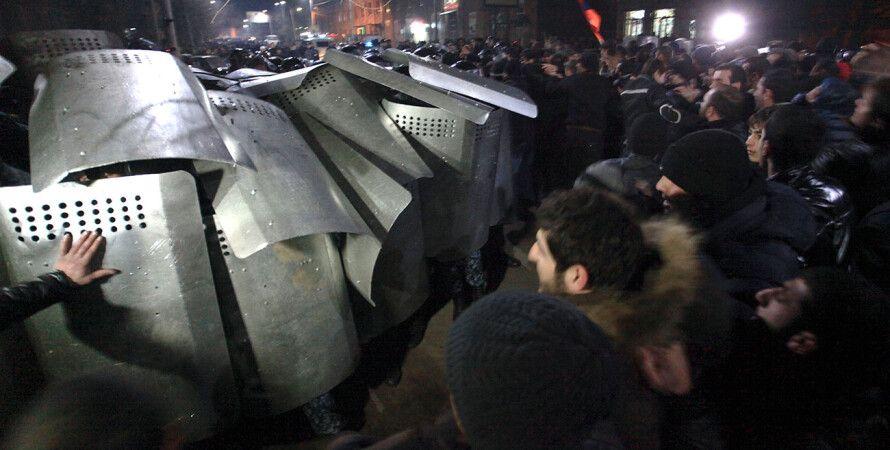 Протесты в Гюмри