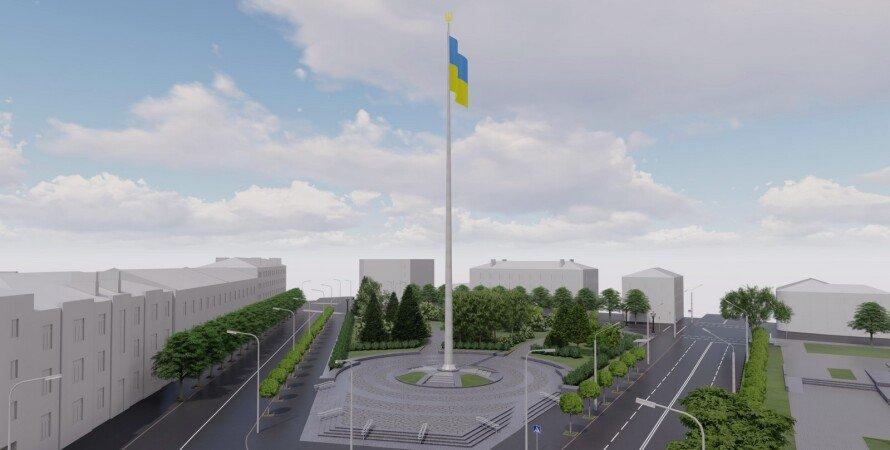 полтава, флаг, ога, полтавская область