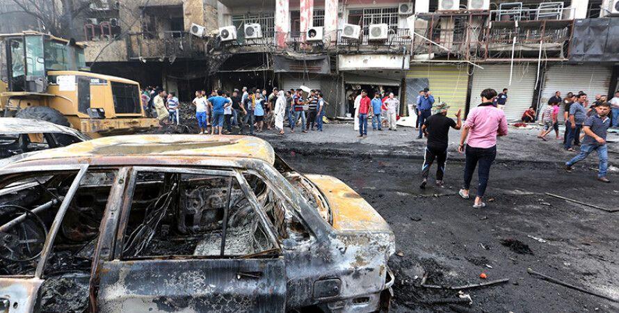 Последствия теракта в Багдаде / Фото: wz.de