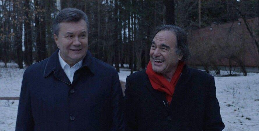 Виктор Янукович и Оливер Стоун / Фото: Facebook.com/TheOliverStone