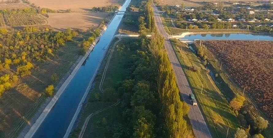 Северо-Крымский канал, орошение, фото