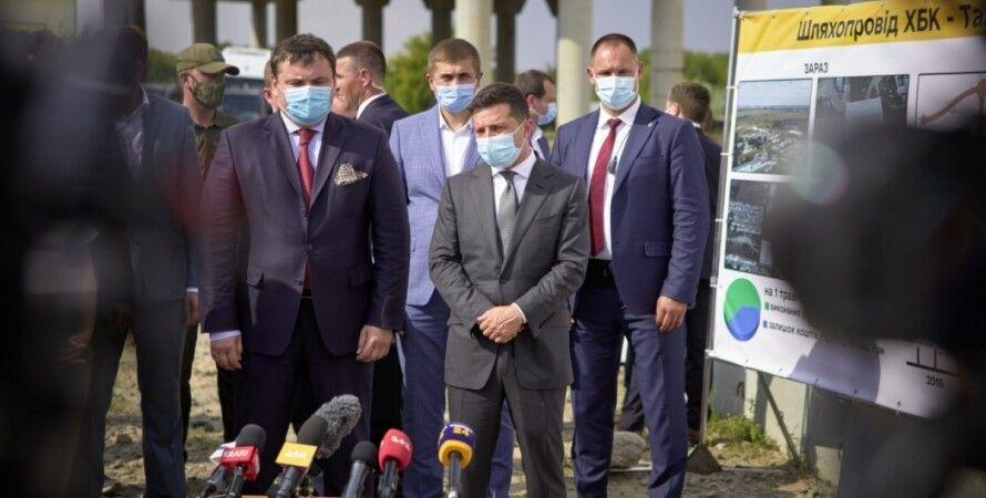 Зеленский, большая стройка, коронавирус, бюджет, Офис президента, фото