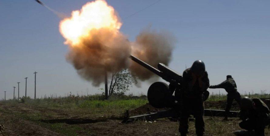 война на Донбассе, боевики Л/ДНР, обстрелы на Донбассе
