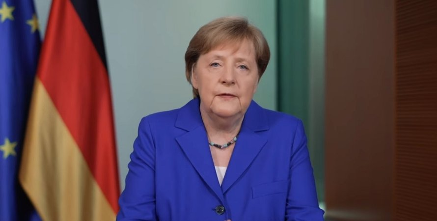 Ангела Меркель, канцлер, Германия