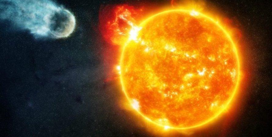 Звезда красный карлик и планета