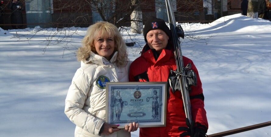 Евгений Антропов, горнолыжник, лыжник, рекорд, Буковель