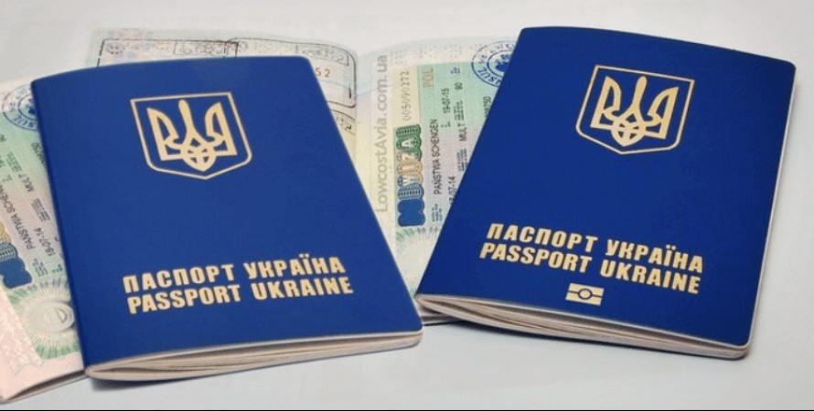 украинский паспорт, фото