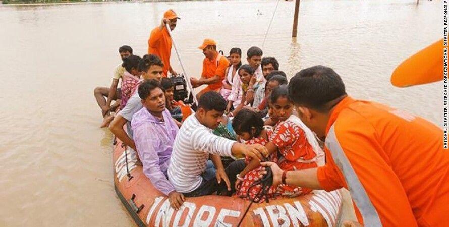 Наводнение в Индии. Фото: National Disaster Response Force