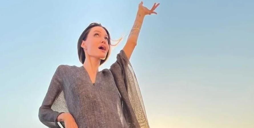 Анджеліна Джолі, венеція, фотосесія, боса Анджеліна Джолі
