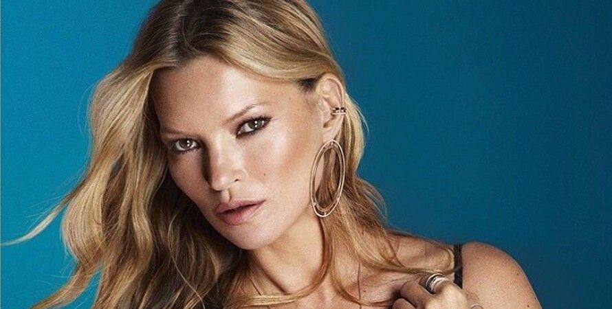 Vogue, модель, обложка, фотосессия, Кейт Мосс, Christian Dior, Versace