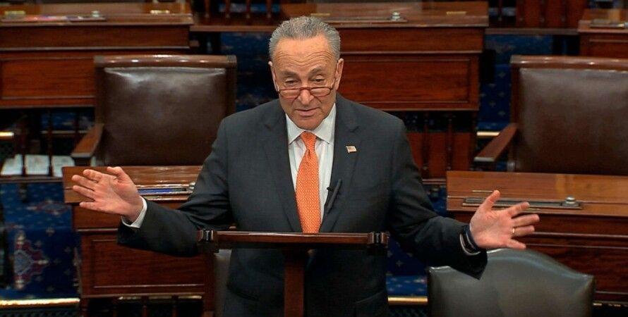 Чак Шумер, демократы, Сенат